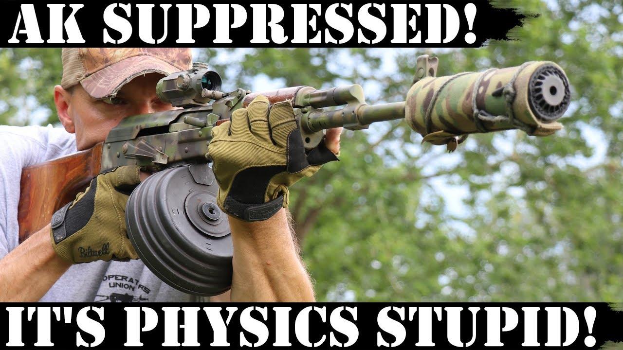 AK Suppressed! No magic, just physics!