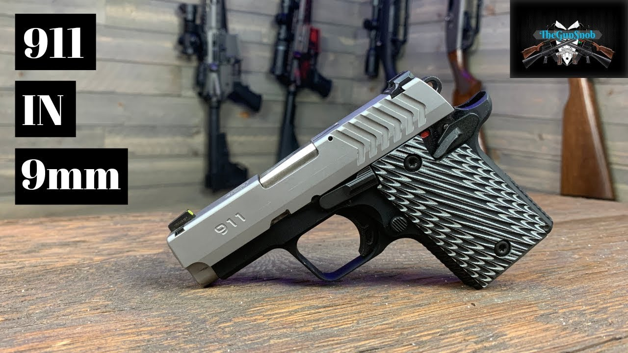 The New Springfield  Armory 911 9mm