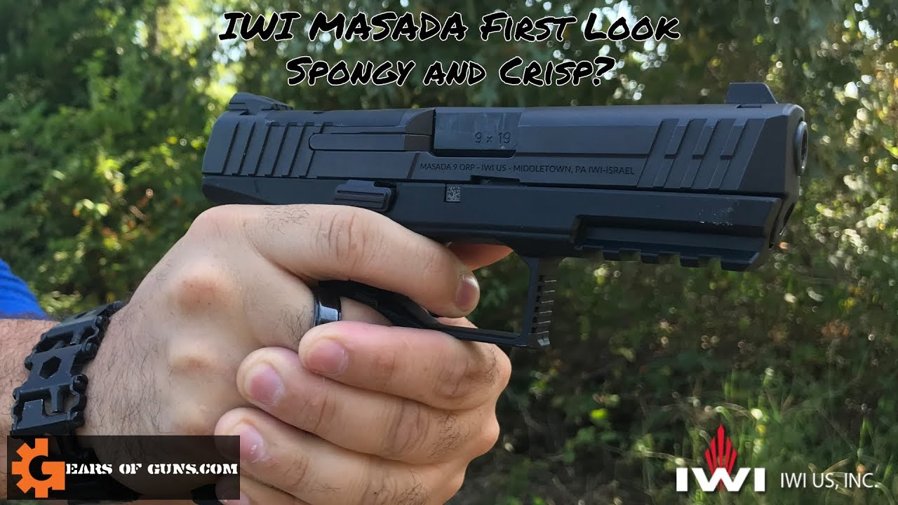 The IWI Masada First Look  - Spongy And Crisp?