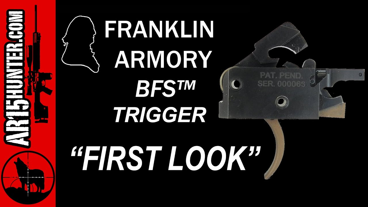 New Franklin Armory BFS Trigger - Binary Firing System First Look