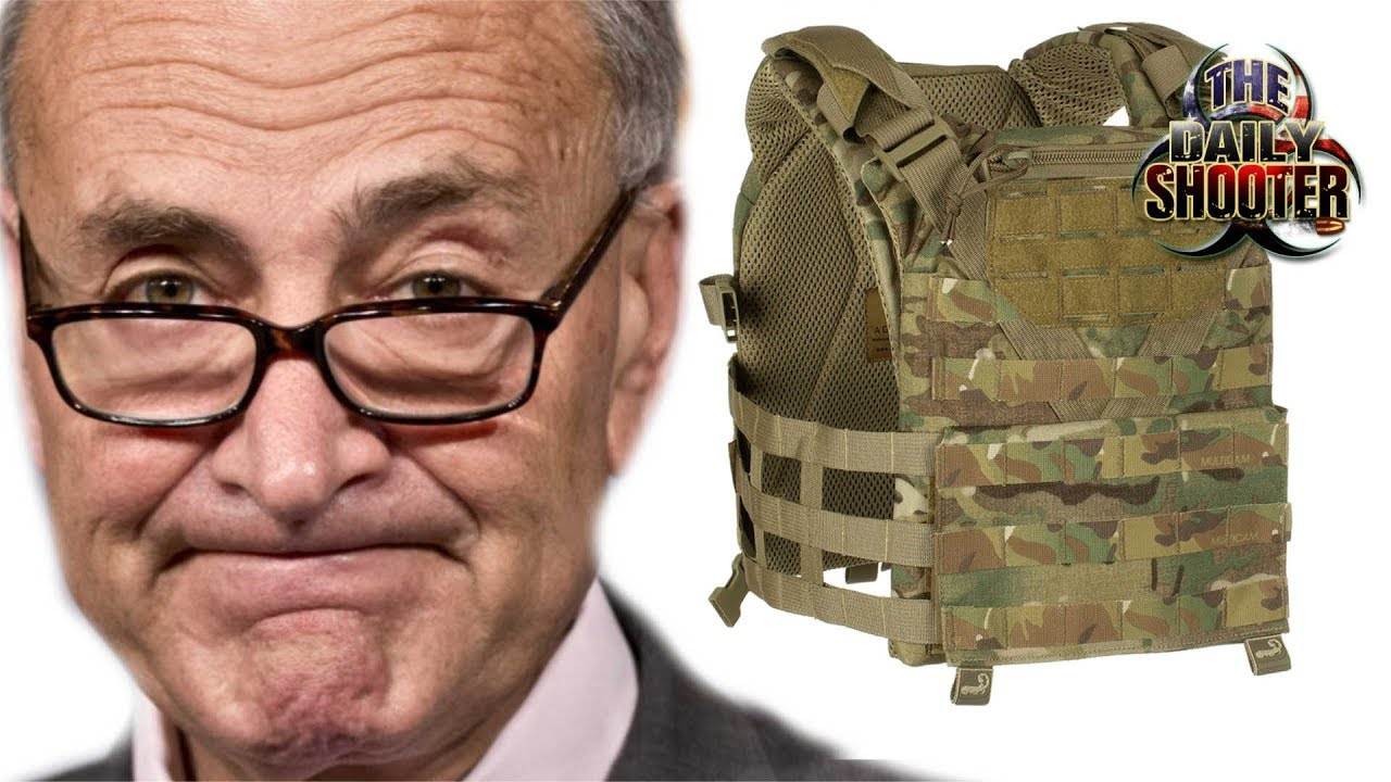 Chuck Schumer Wants to BAN Body Armor