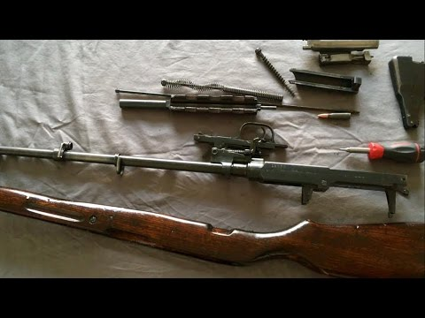 SKS Rifle Disassembly and Reassembly