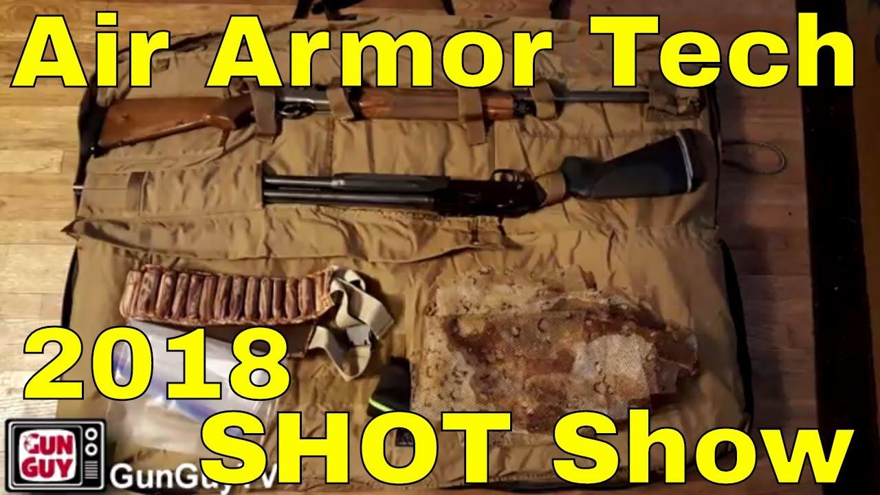 Best Gun Cases EVER!!!  Air Armor Tech at SHOT Show 2018