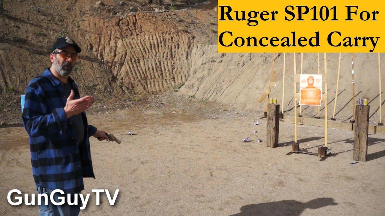 The Ruger SP101 357 Magnum for Concealed Carry