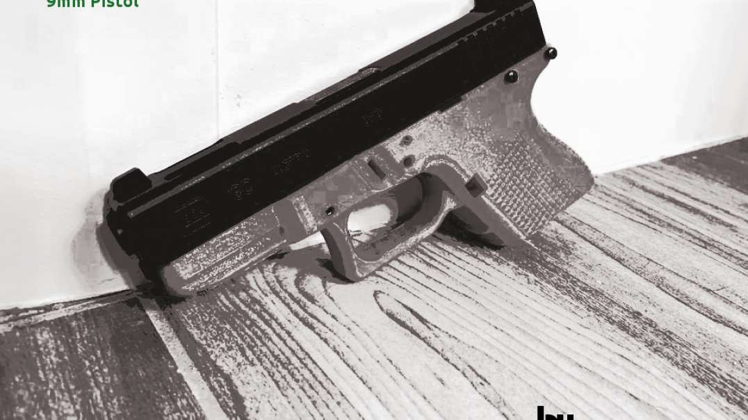 FOSSCAD: 3D-Printed Glock G26L Pistol Frame and DIY Rail System [TEST FIRE]