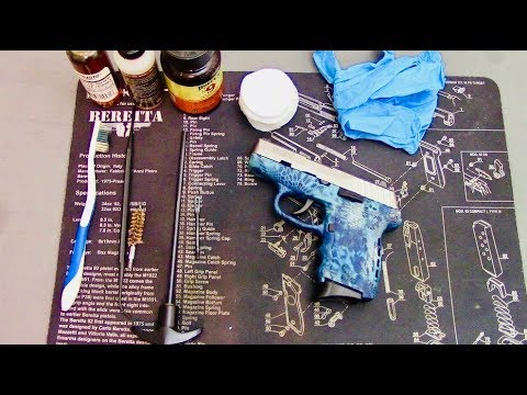 How To Clean a SCCY CPX-2 9mm Pistol