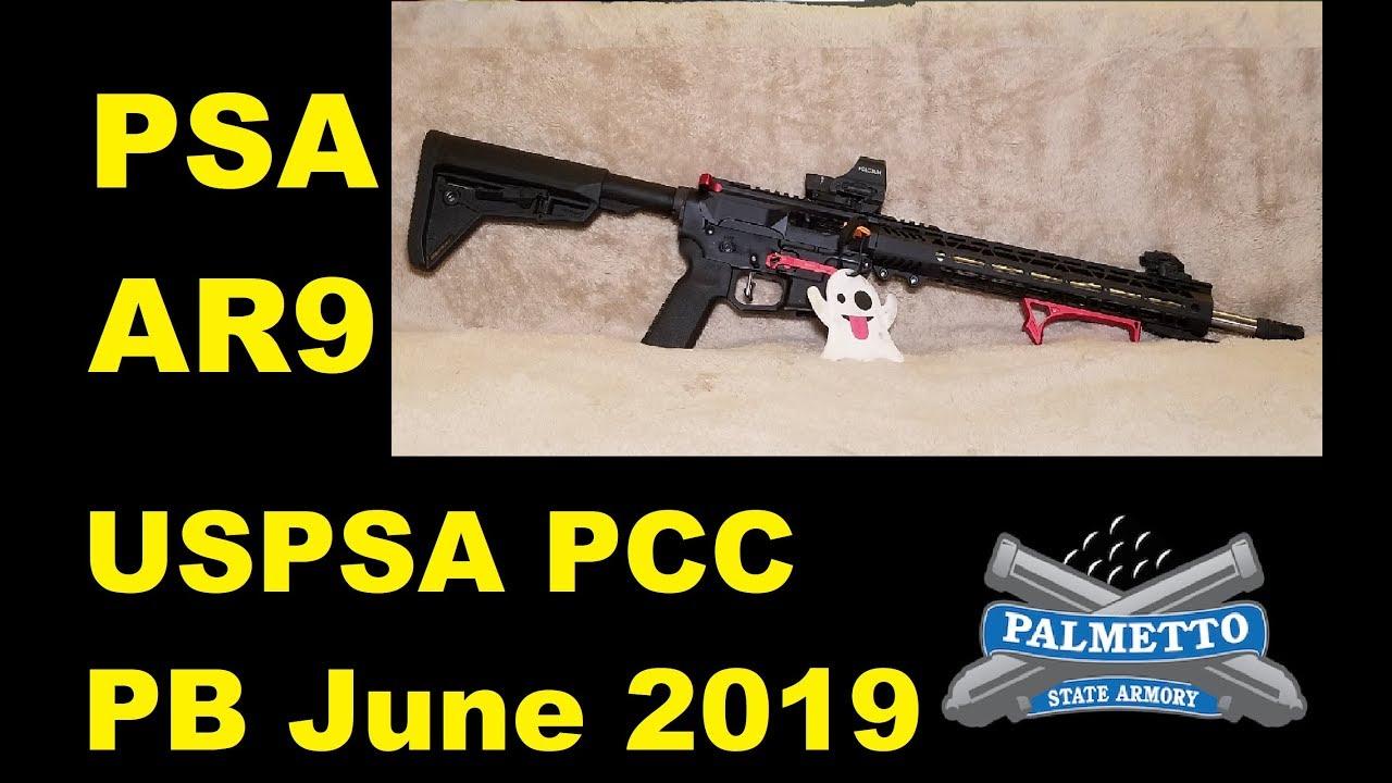 PSA AR9 - PCC - USPSA - PB 2019 June