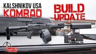 Kalashnikov Komrad Revisited W/ Silencerco Salvo 12