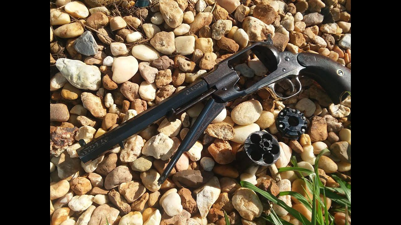 Remington 1858 .45 LC Kirst Conversion Installation