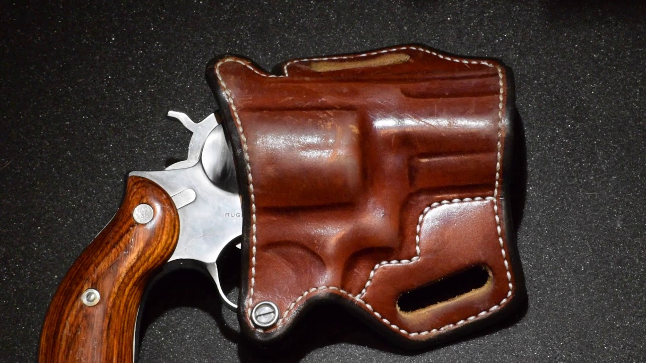 ANDREWS CUSTOM LEATHER HOLSTER REVIEW! Ruger Redhawk 2.5