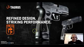 The all new (2019-2020) Taurus G3 pistol!  The G2C gets a big brother!