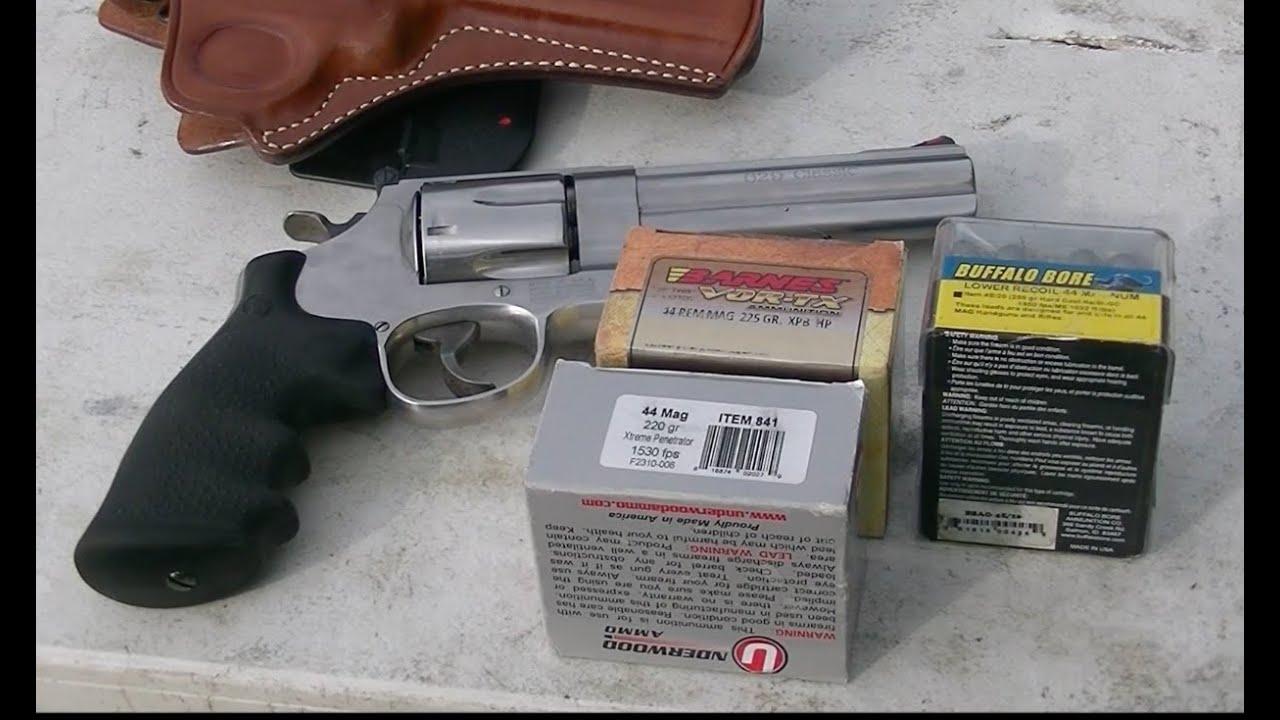 Smith & Wesson 629 Classic Ballistics