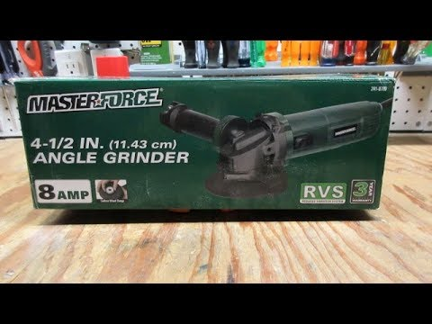 Masterforce  4-1/2 inch Angle Grinder