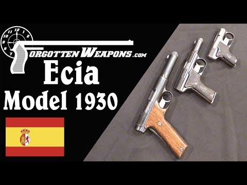 Ecia Model 1930 Family: Lost Competitors to the Astra