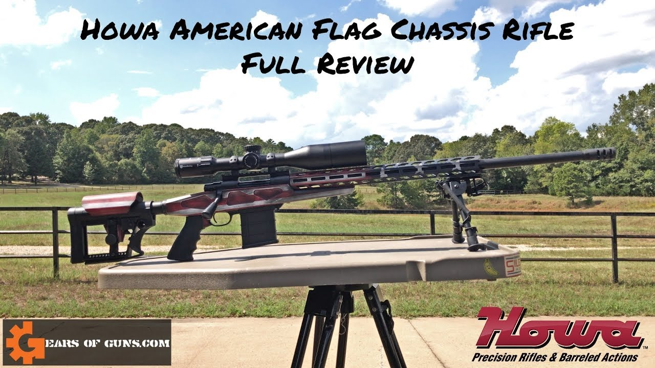 Howa American Flag Chassis Rifle in .308 Review