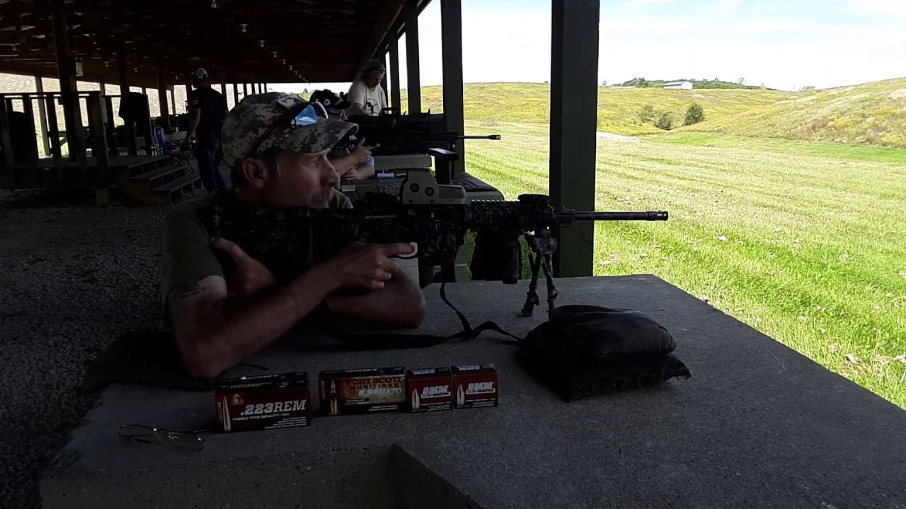 Ringing steel at 300 yards with my Ruger AR556, a EOTech and Fort Scott Munitions Ammo