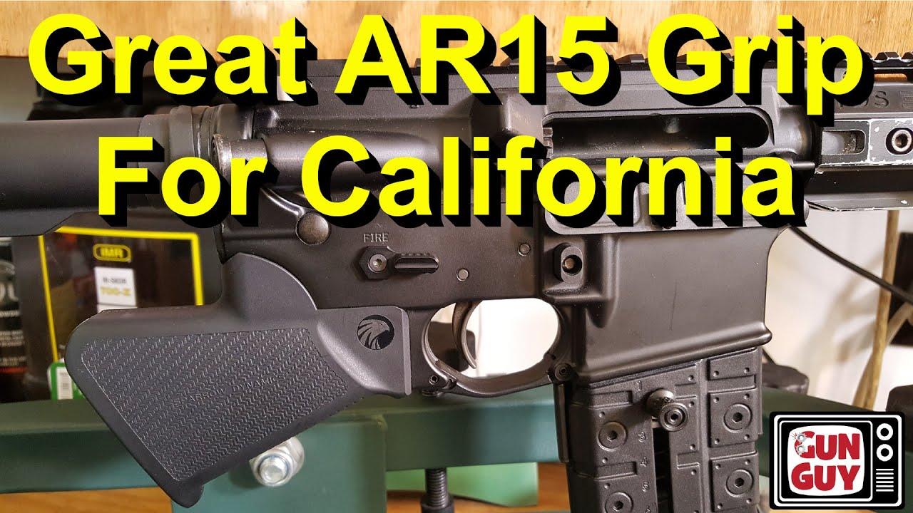 A Terrific California Legal AR15 Grip & Safety Combo!