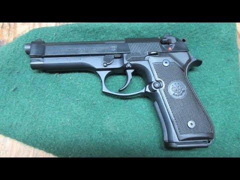 Beretta M9 at the Range