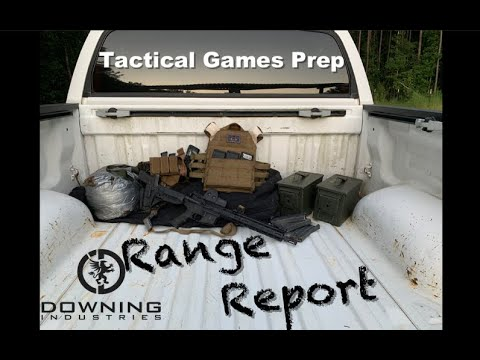 Tactical Games Prep- Range Report