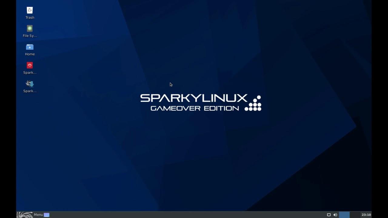 SparkyLinux GameOver Edition.