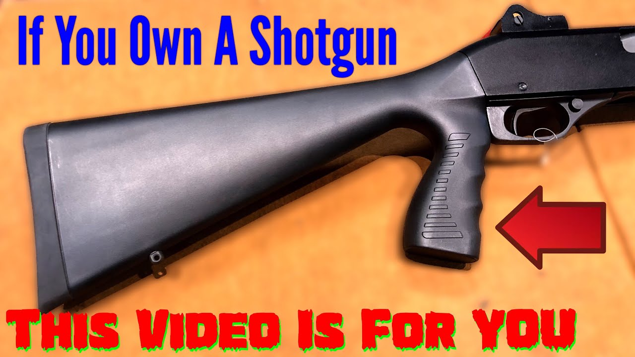 🔴 The Secret Problem With Pistol Grip Stocks (Must Watch)