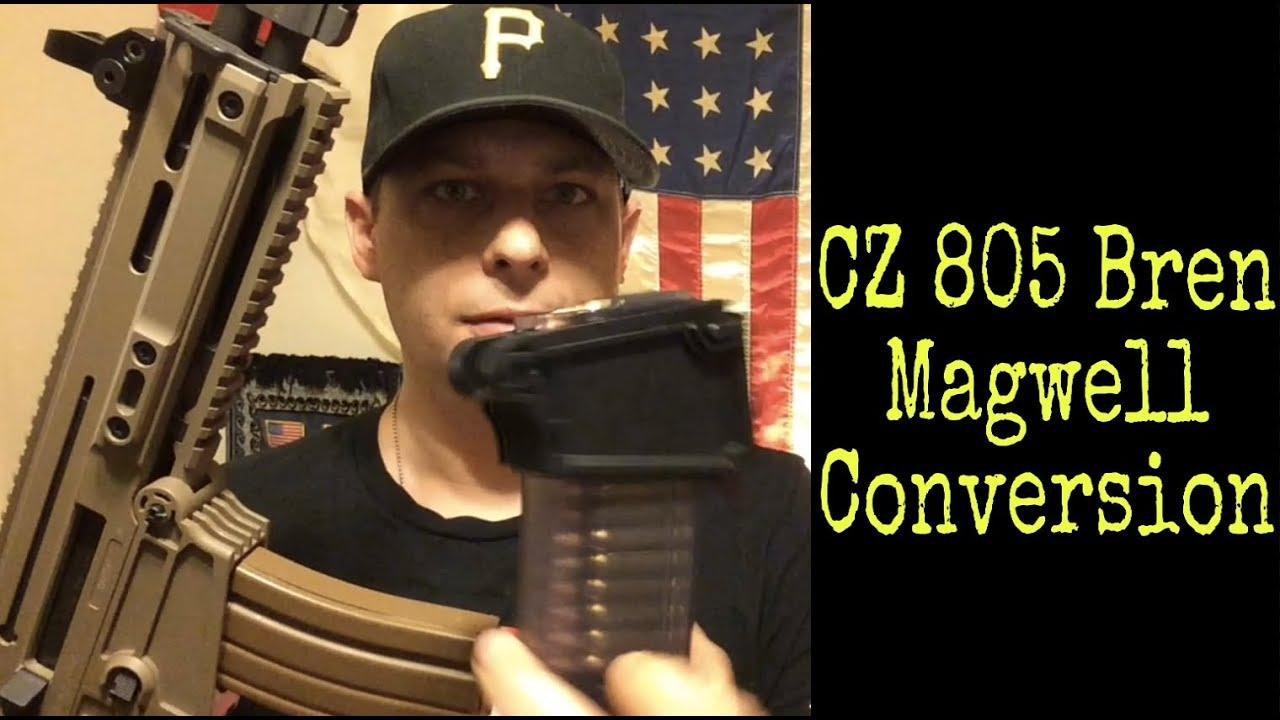 CZ 805 Bren S1 magwell conversion | CZUB 805 Bren Retro Magazine Kit
