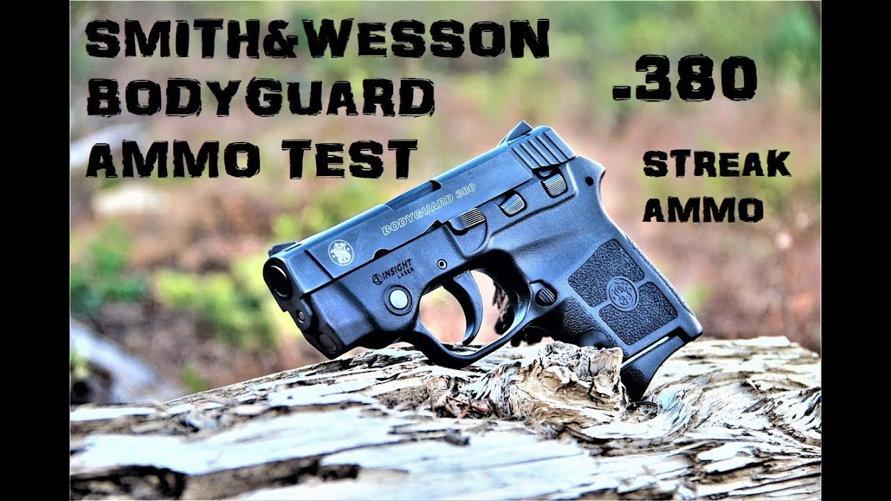 Smith&Wesson Bodyguard .380 Ammo Test