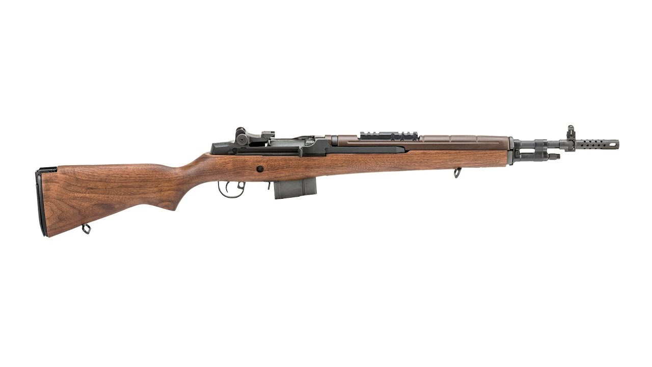 Introduction to the Springfield Armory M1A Scout Squad Rifle #579