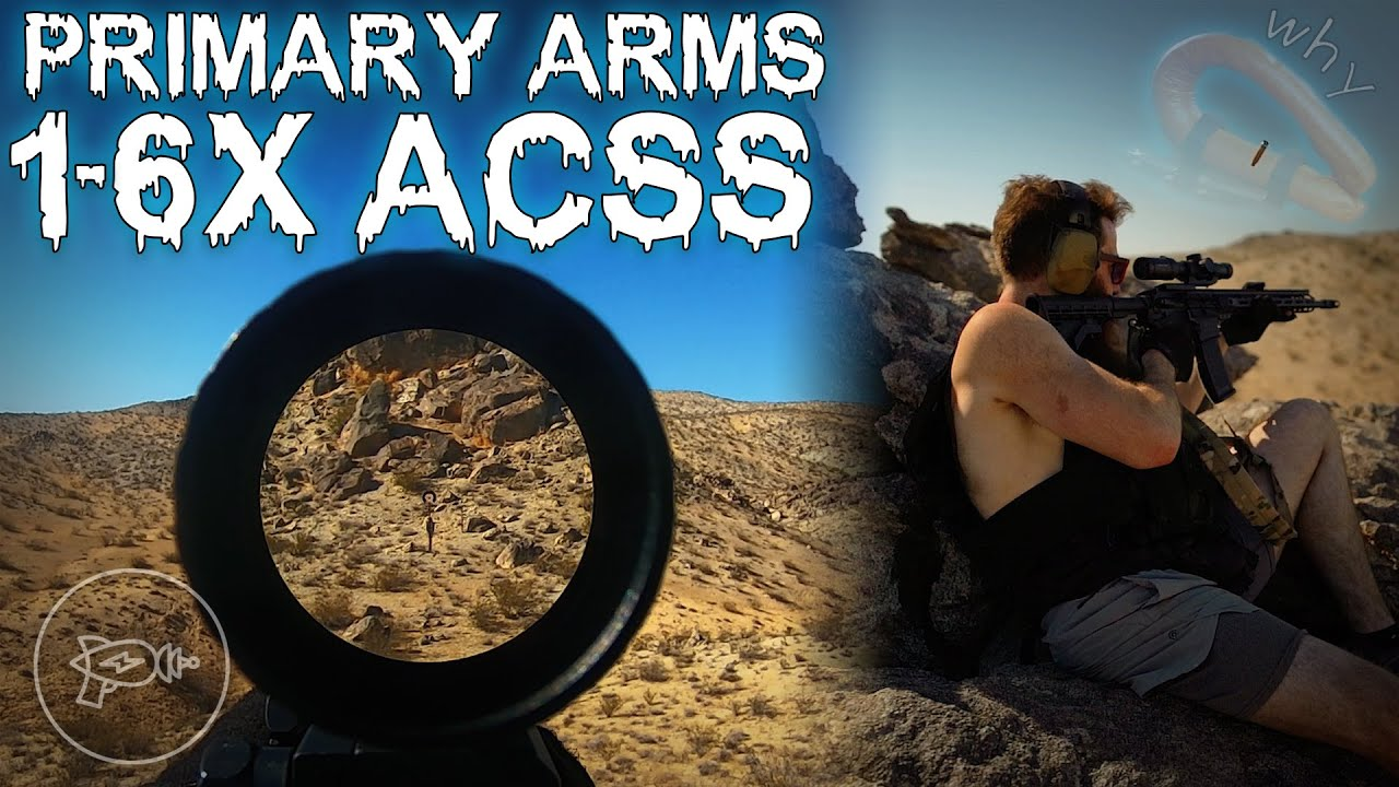 🎶 Near, Far, Wherever You Are 🎶: Primary Arms 1-6x ACSS Gen 3 [Review]