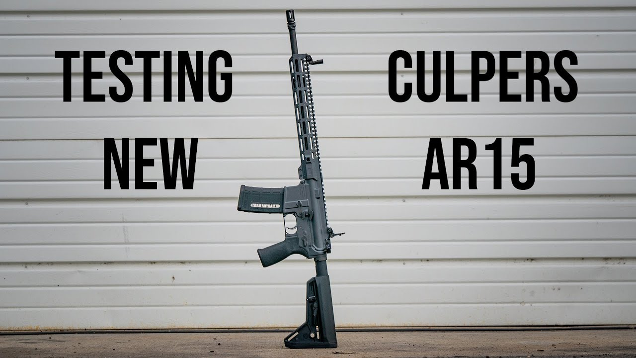 Gun Vlog #2 : New AR15's From Culper Precision