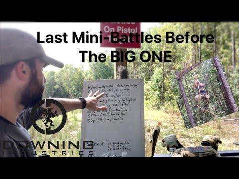 Last Minute Mini-Battles...