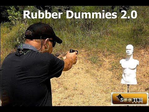 Best Range Training Tool   New Rubber Dummies 2 0