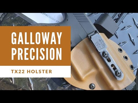 Taurus TX22 Holster Review: Galloway Precision