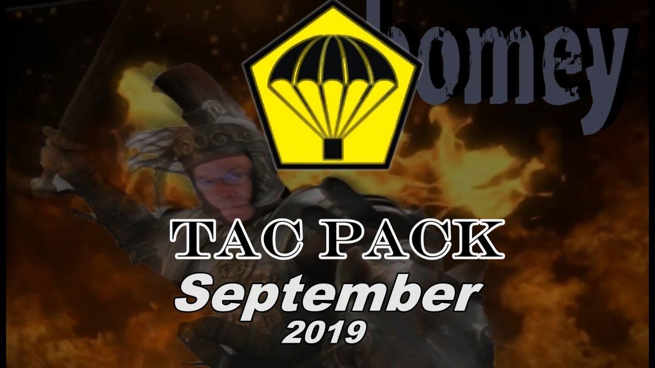 Tac Pack September 2019
