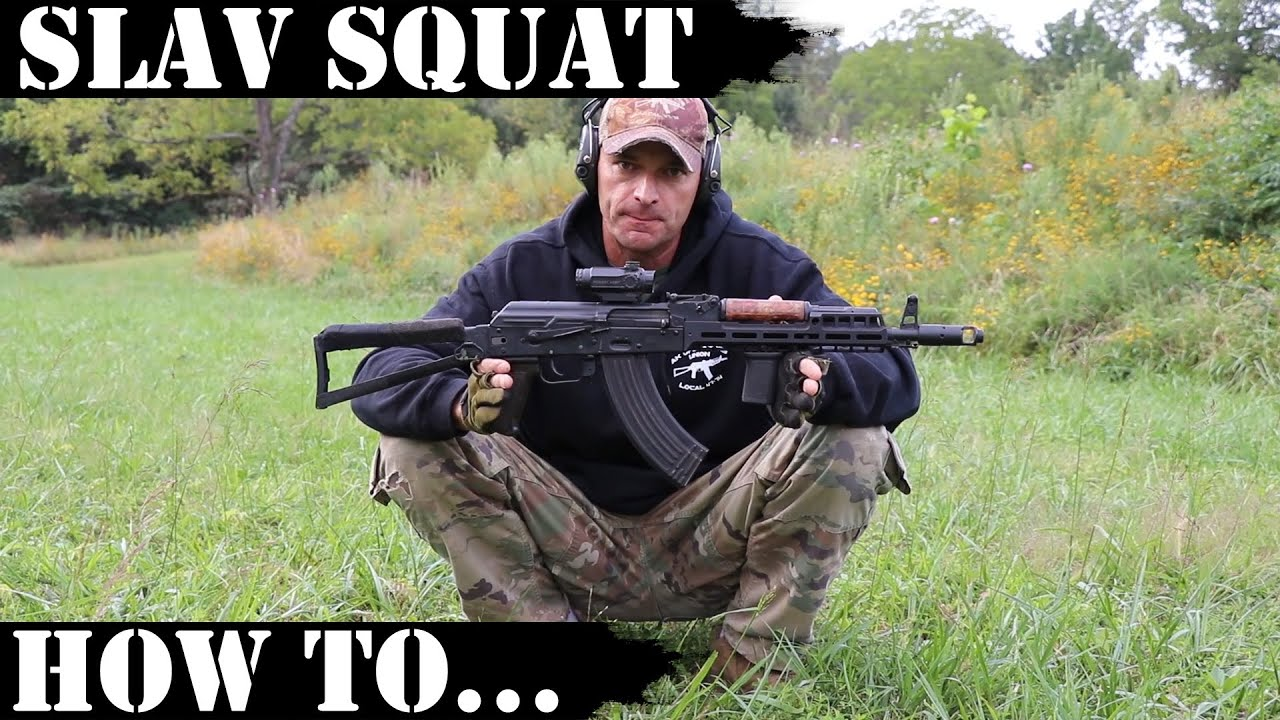 Slav Squat - how to shoot from squat!