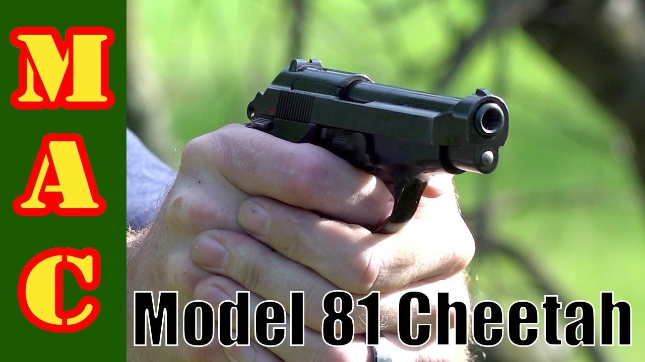 Classic Beretta Model 81 Cheetah - Great surplus buy alert!