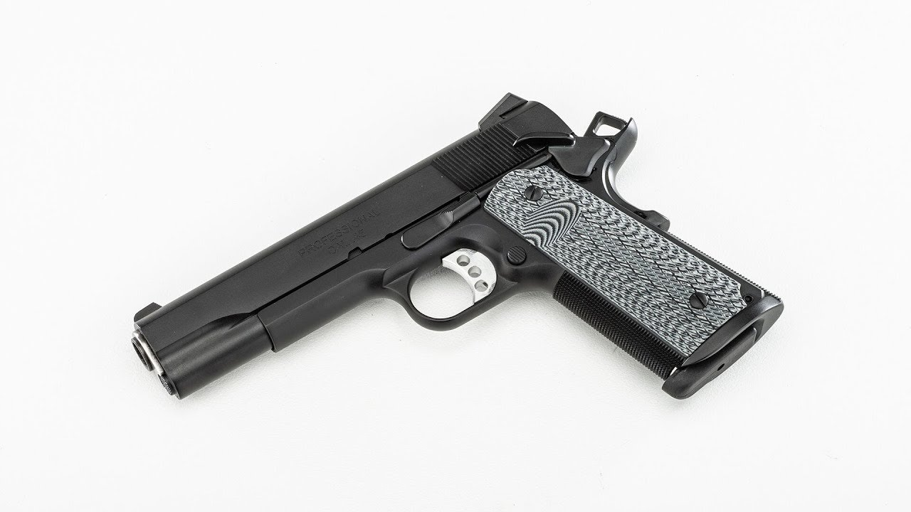 How-To Replace Grips on a Springfield Armory Professional 1911 #591