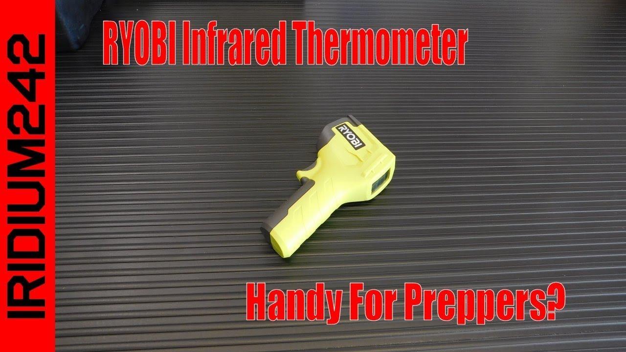 RYOBI Infrared Thermometer: Very Handy!