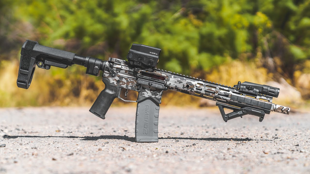 Cerakoted Gun from Culper Precision (Trailer)