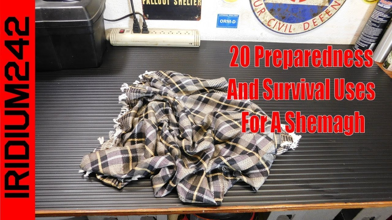 20 Preparedness & Survival Uses For A Shemagh