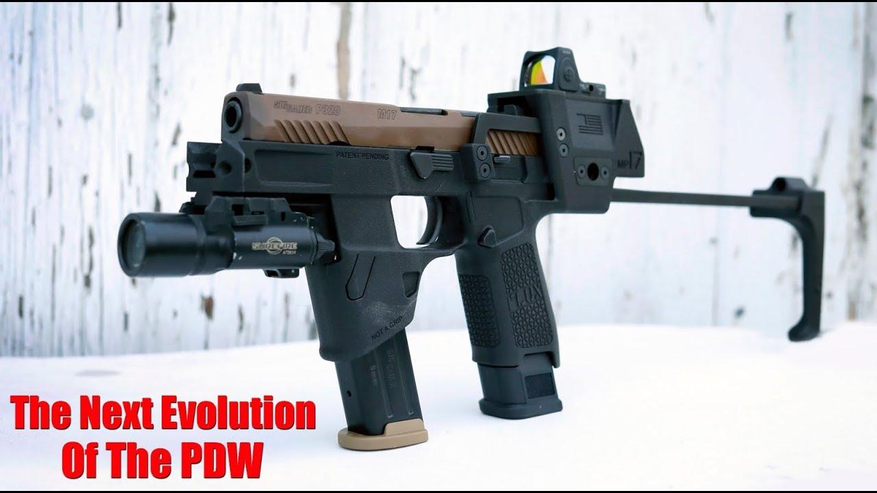 Flux Defense MP17 Pistol Brace System: Sig Sauer M17 & P320