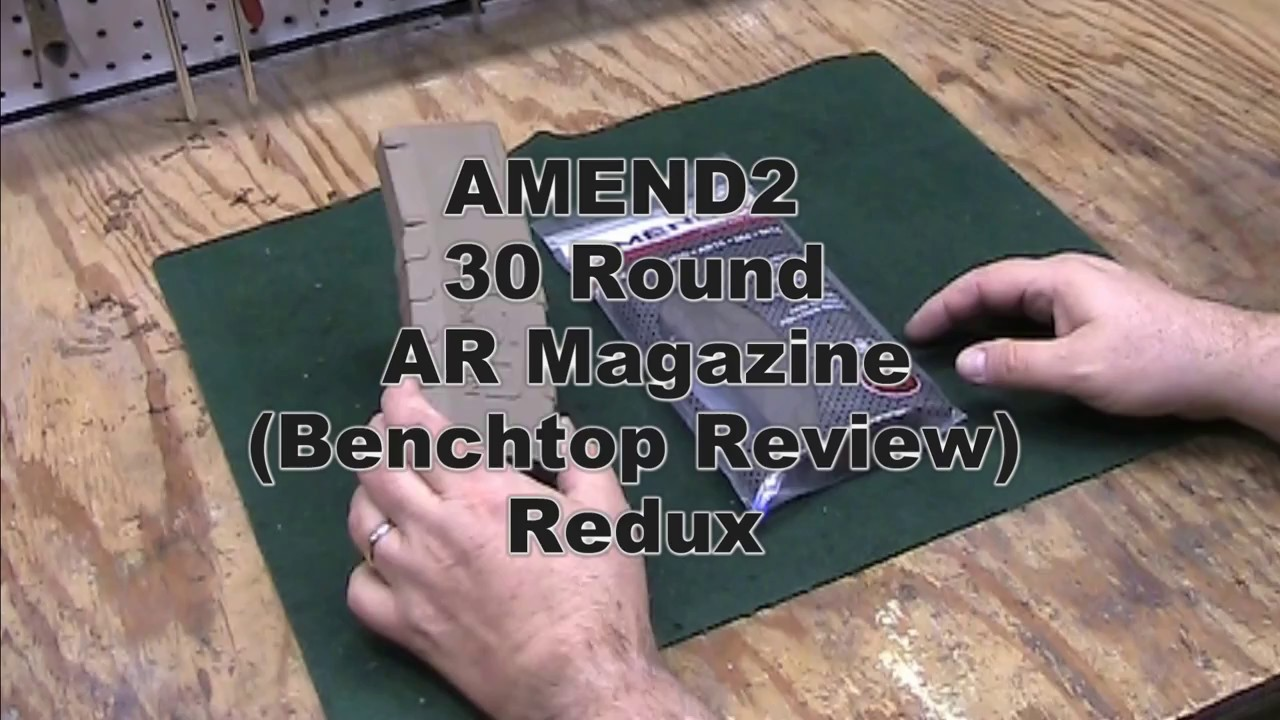 Amend2 Magazine Benchtop Review Redux