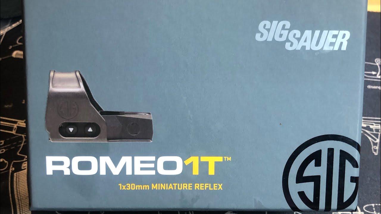Sig Romeo1T Comparison To Original Romeo1.