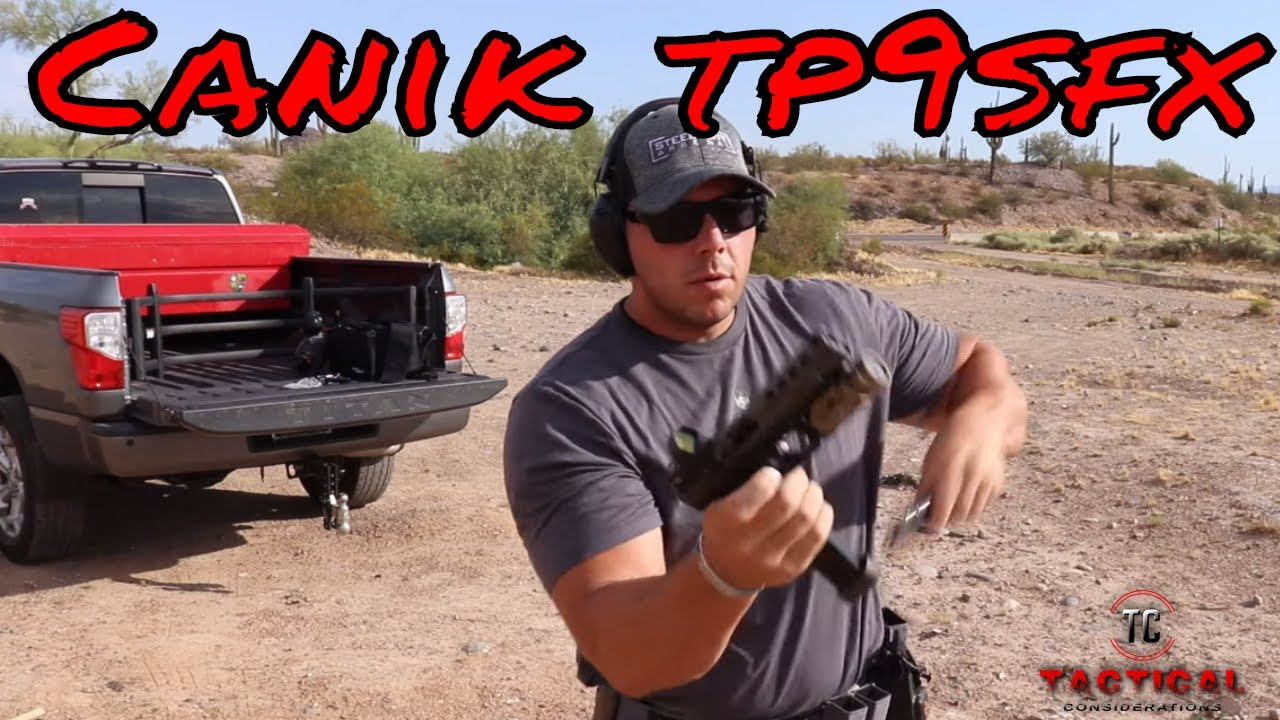 Canik TP9SFX Ultimate First Gun Competition Ready?