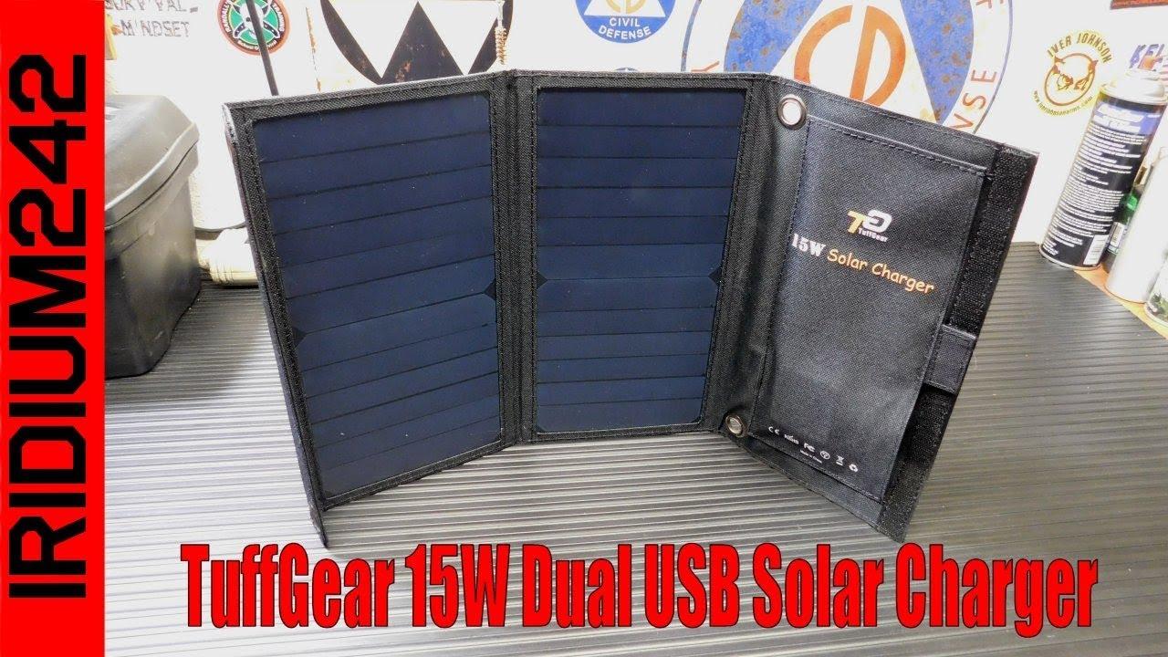 Affordable Solar: TuffGear 15W Dual USB Solar Charger!