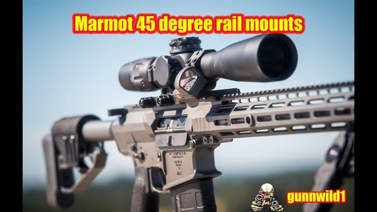 Marmot 45 degree rail mounts