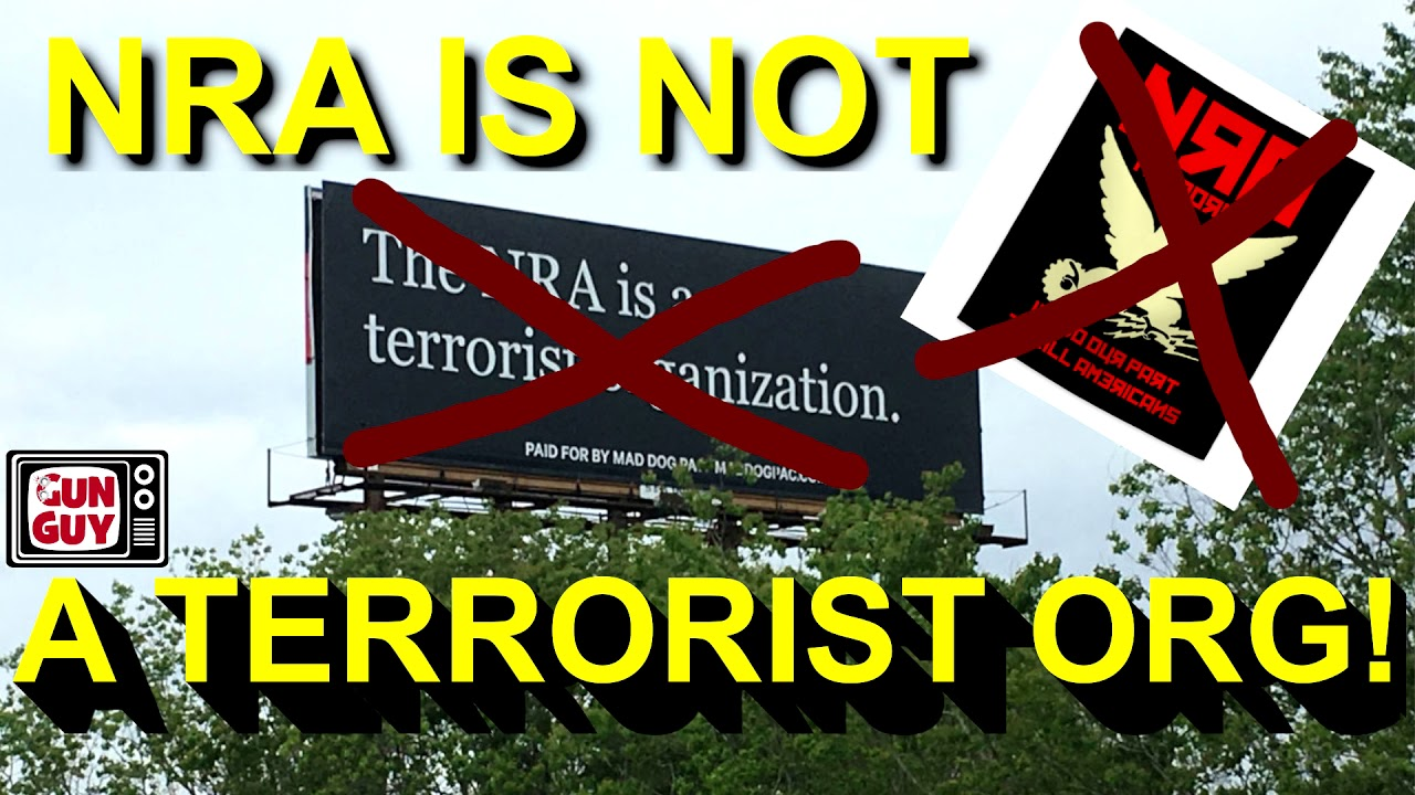 Is NRA a terrorist group? - Audio Podcast episode 56