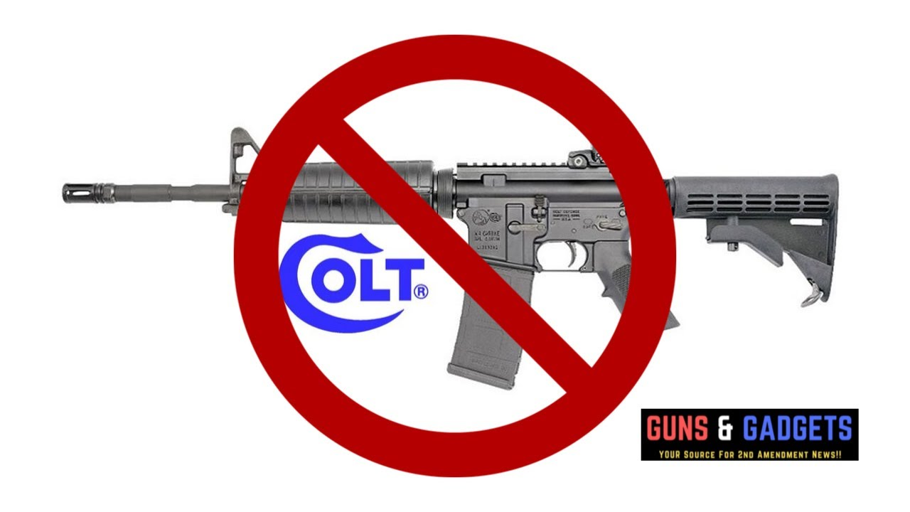Colt Stops Production of Long Guns for Retail Market