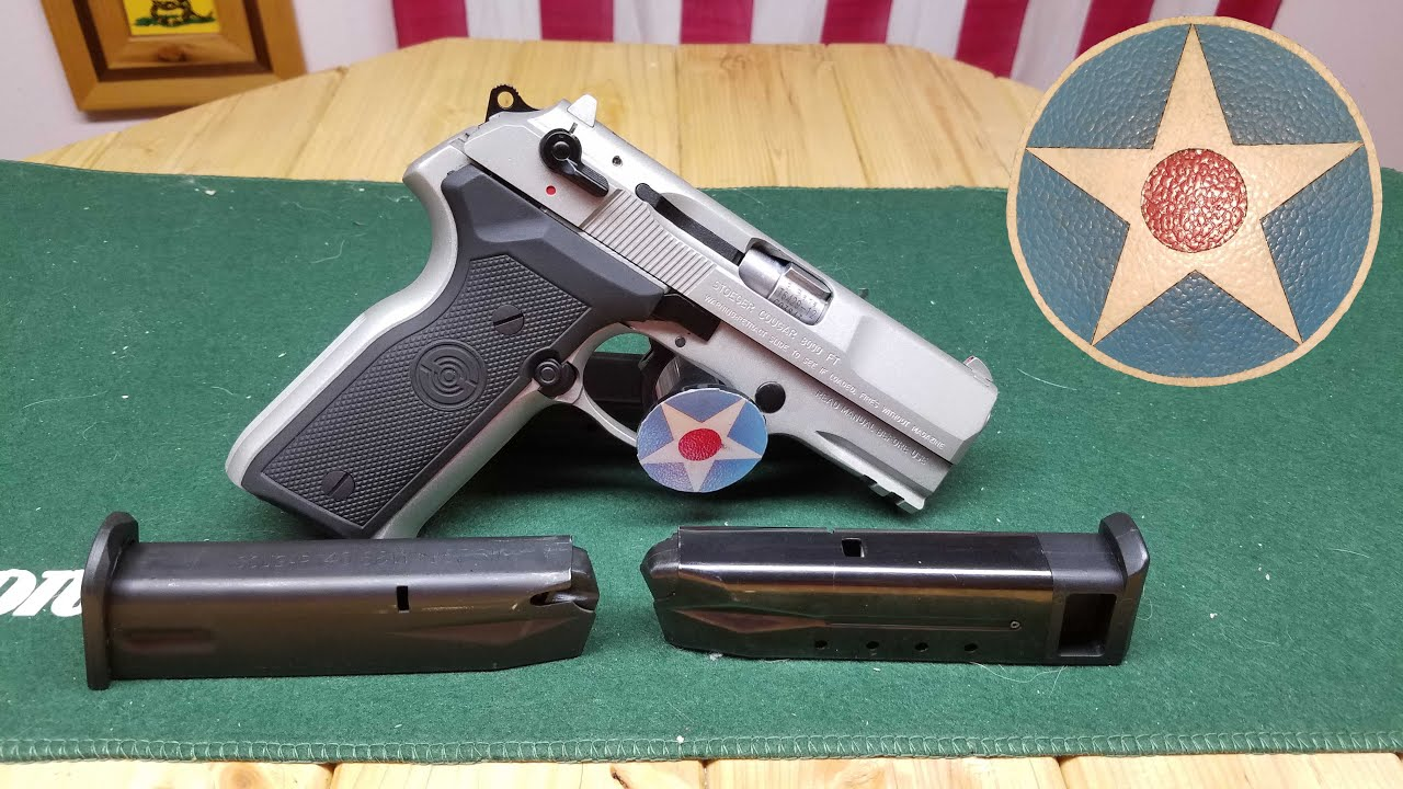 Beretta / Stoeger 8000 Cougar Magazine Conversion From Ruger P Series Mag