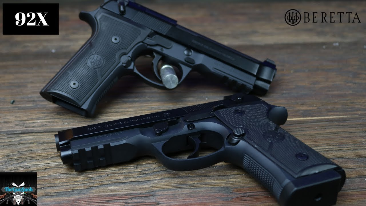 New Beretta 92X Review